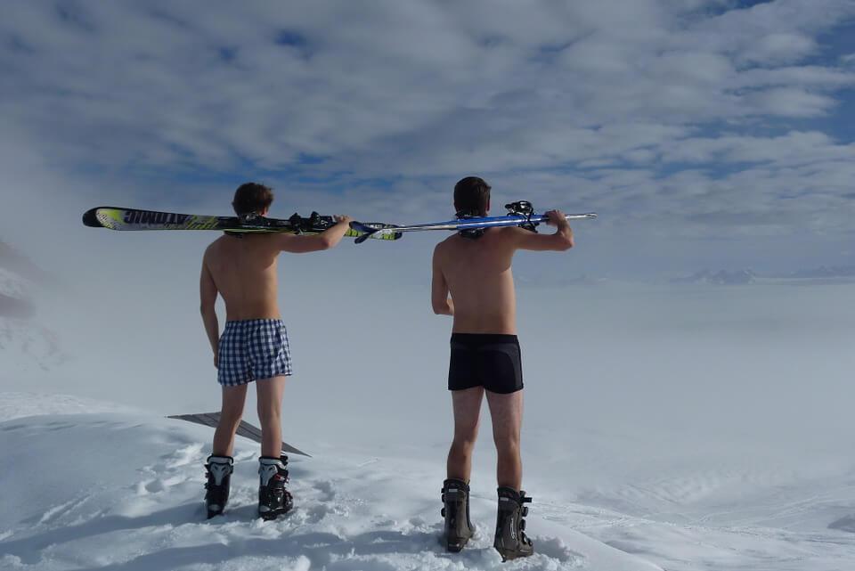 Ferie na stoku narciarskim